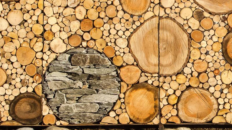 Holz Und Stein Kunst Foto Bild Kunstfotografie Kultur Gemalde