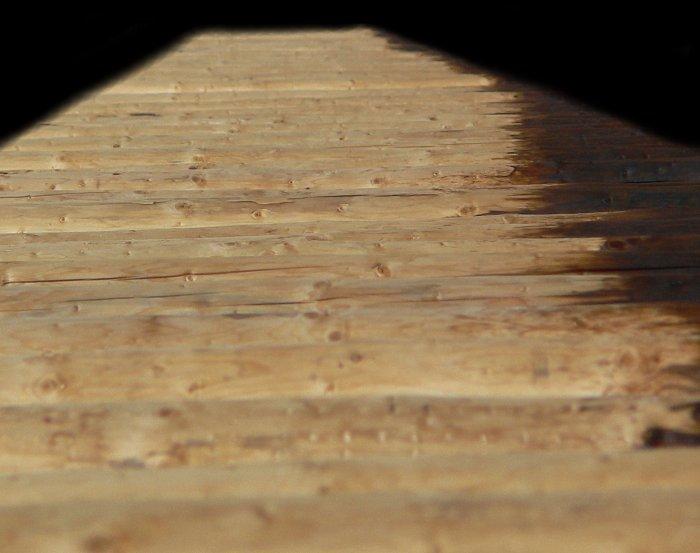 Holz vor der Hütte?