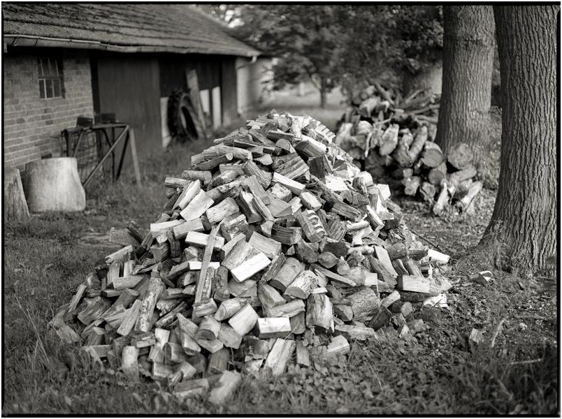 Holz vor der Hütt´n...
