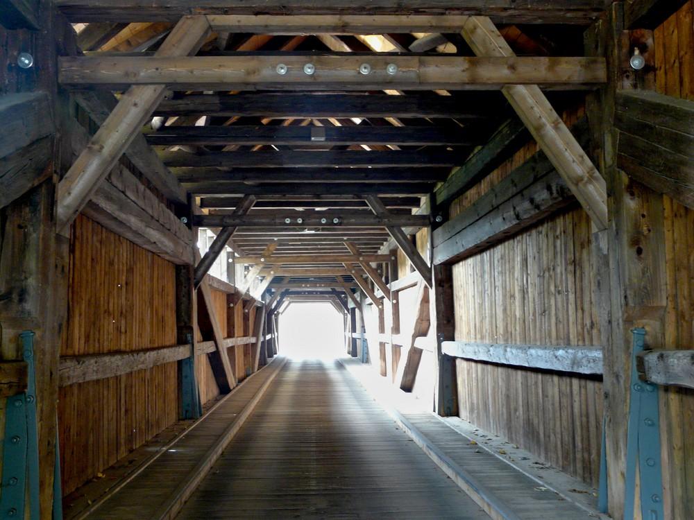 Holzbrücke in Hohenfichte 1