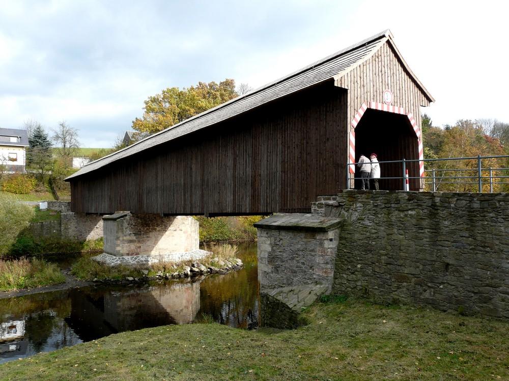 Holzbrücke in Hohenfichte 3