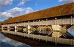 Holzbrücke über die Aare