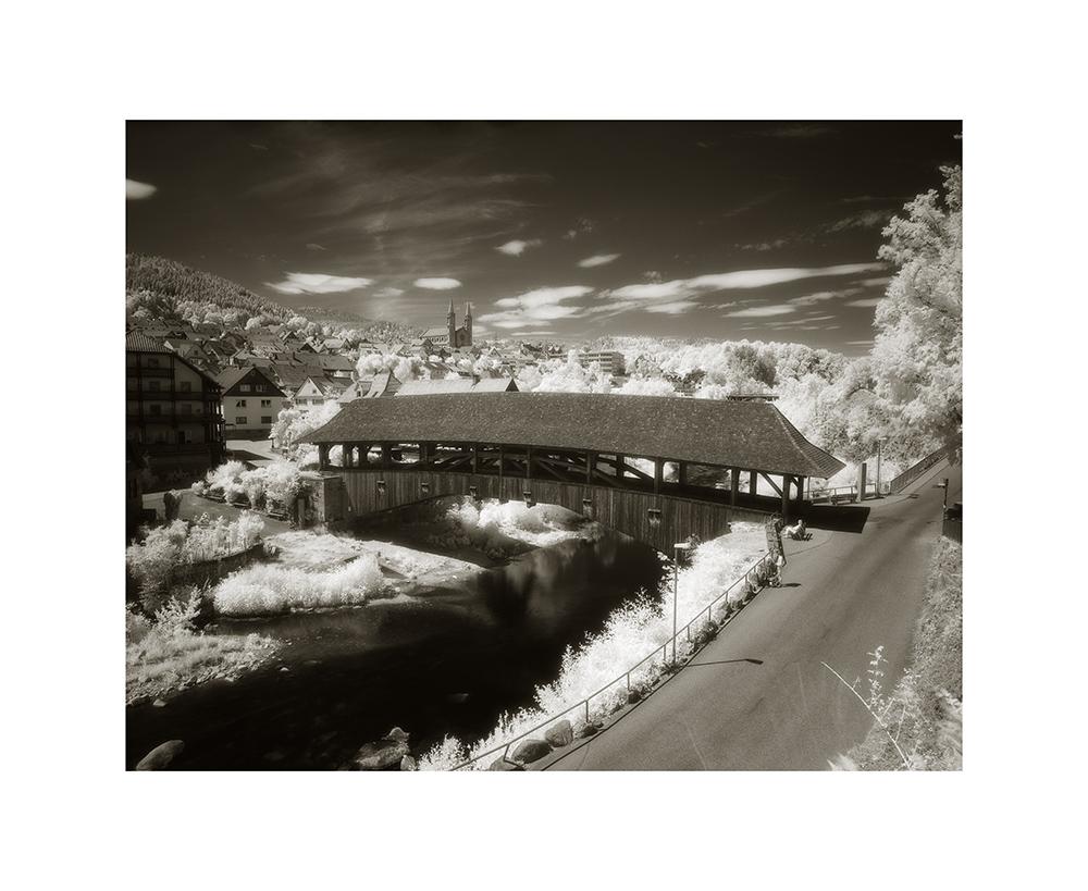 Holzbrücke von Forbach