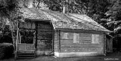 Holzhaus im Waldgebiet von der Gemeinde Seebach-Schernbach