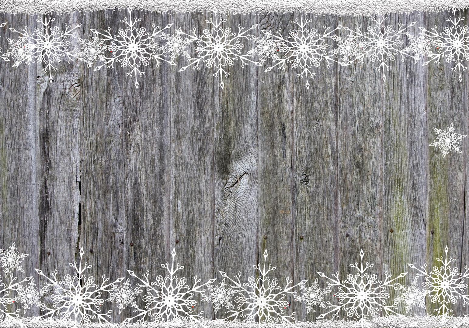 Holzhintergrund Schneeflocke Foto & Bild | gratulation und feiertage ...