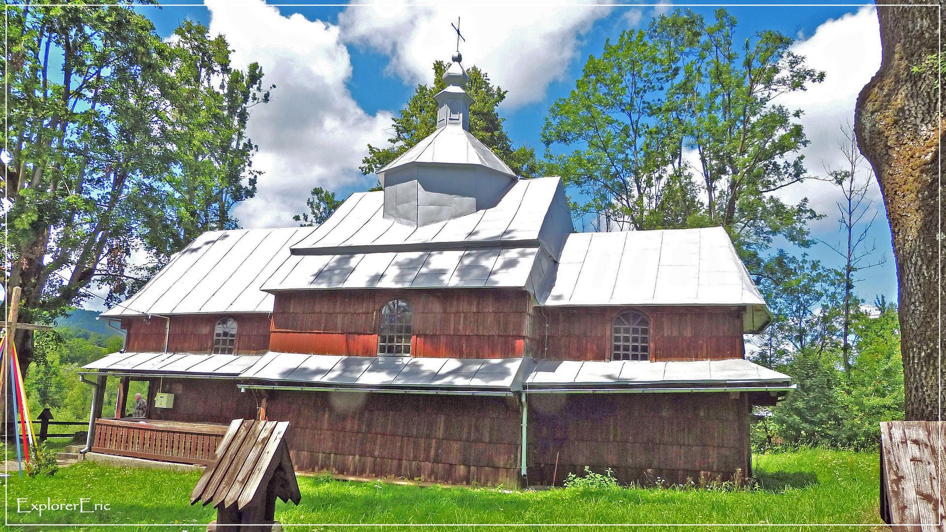 Holzkirche in den Besciden................