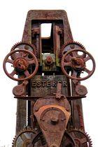 Holzsägemaschine ca 1900 im Schwarzwald