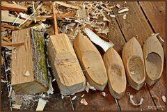 Holzschuhmacherei