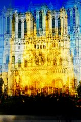 Homage an Claude Monet, Kathedrale in Rouen