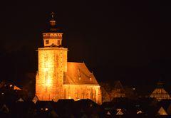 Homberg (Efze) am Abend (2)