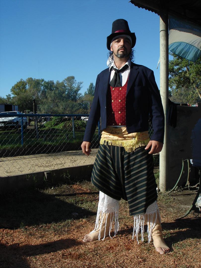 hombre de campo  argentino circa 1850