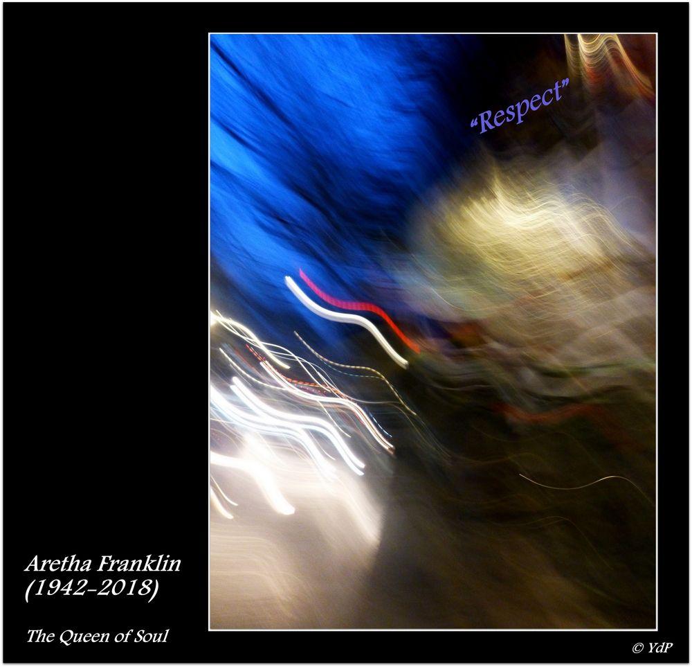 Hommage à Aretha Franklin...