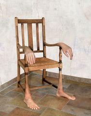Hommage - Paul Wunderlich...der Stuhl ..reloadet