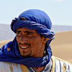 Homme bleu du sahara