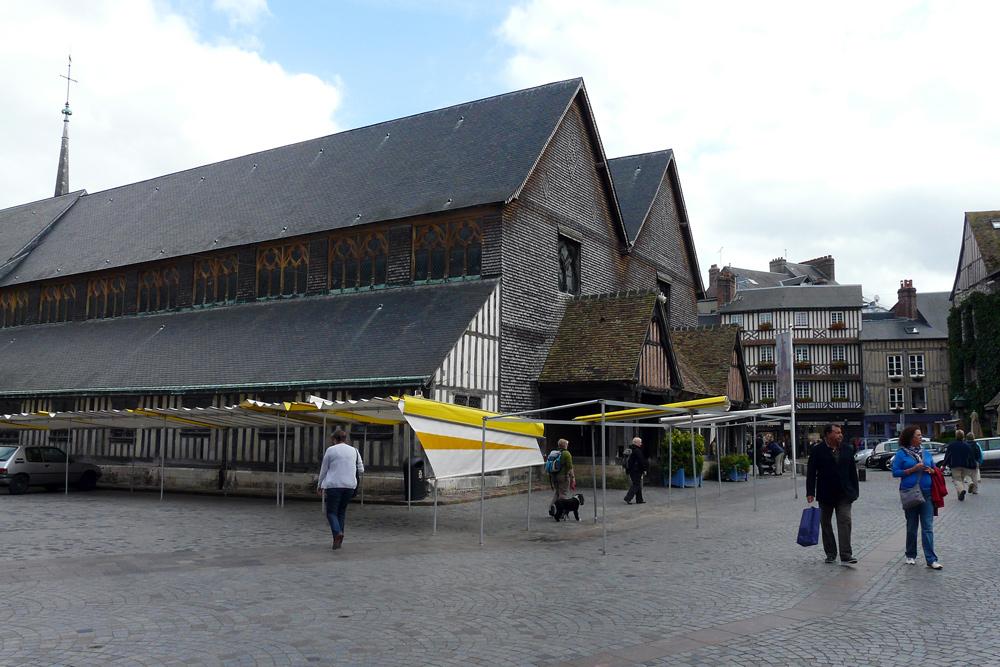 Honfleur - Eine ungewöhnliche Kirche