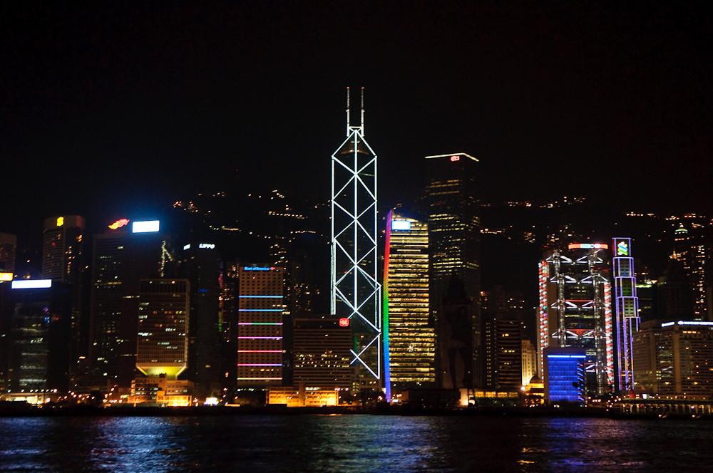 Hong Kong Harbor - Nightview II