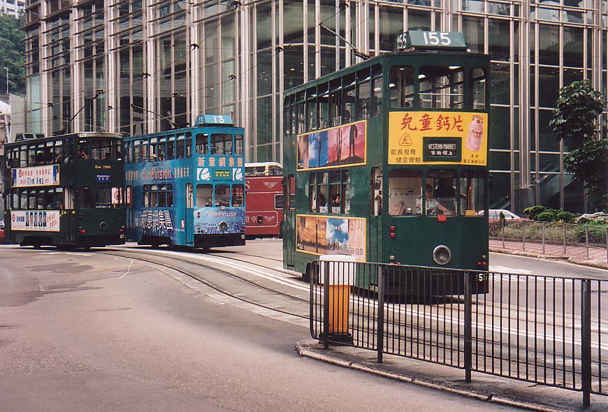 Hong Kong - Nahverkehr 2000