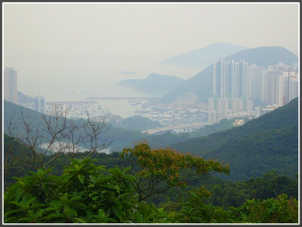 Hong Kong- neblig