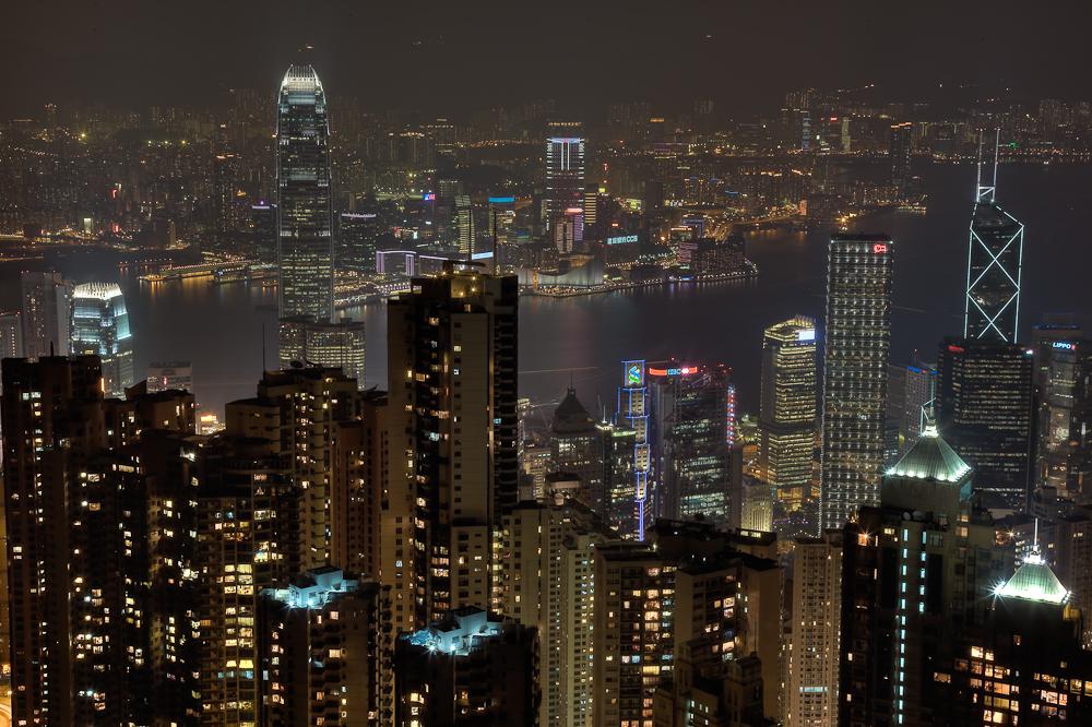 Hong Kong @ Night Peak View