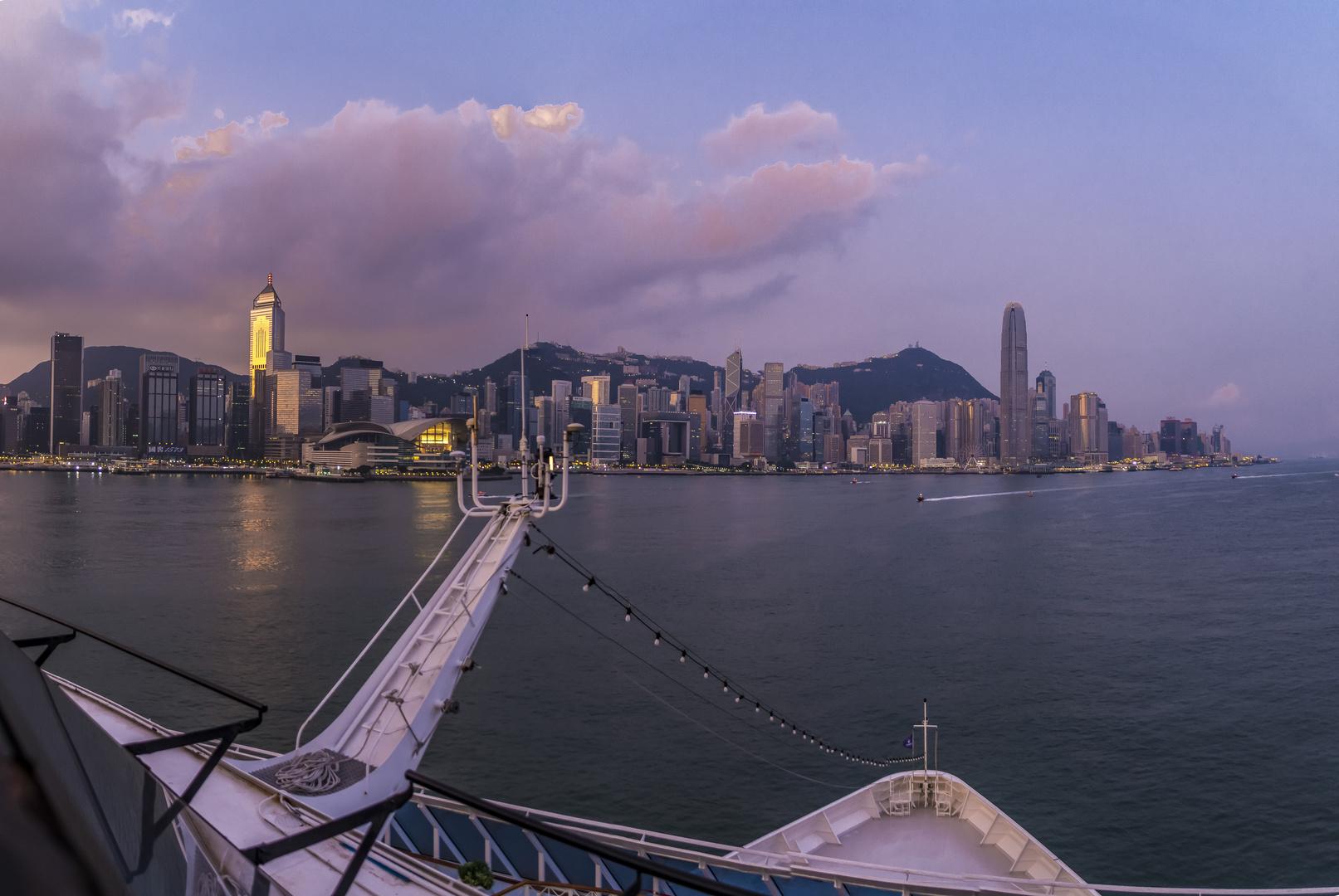 Hong Kong, Sonnenaufgang