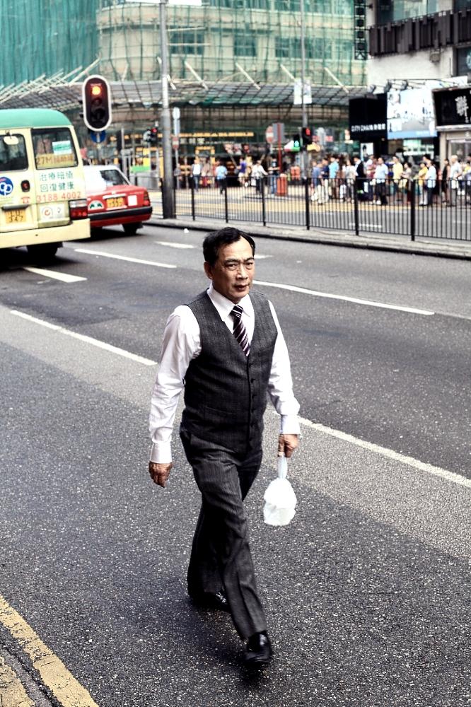 Hong Kong Street Man
