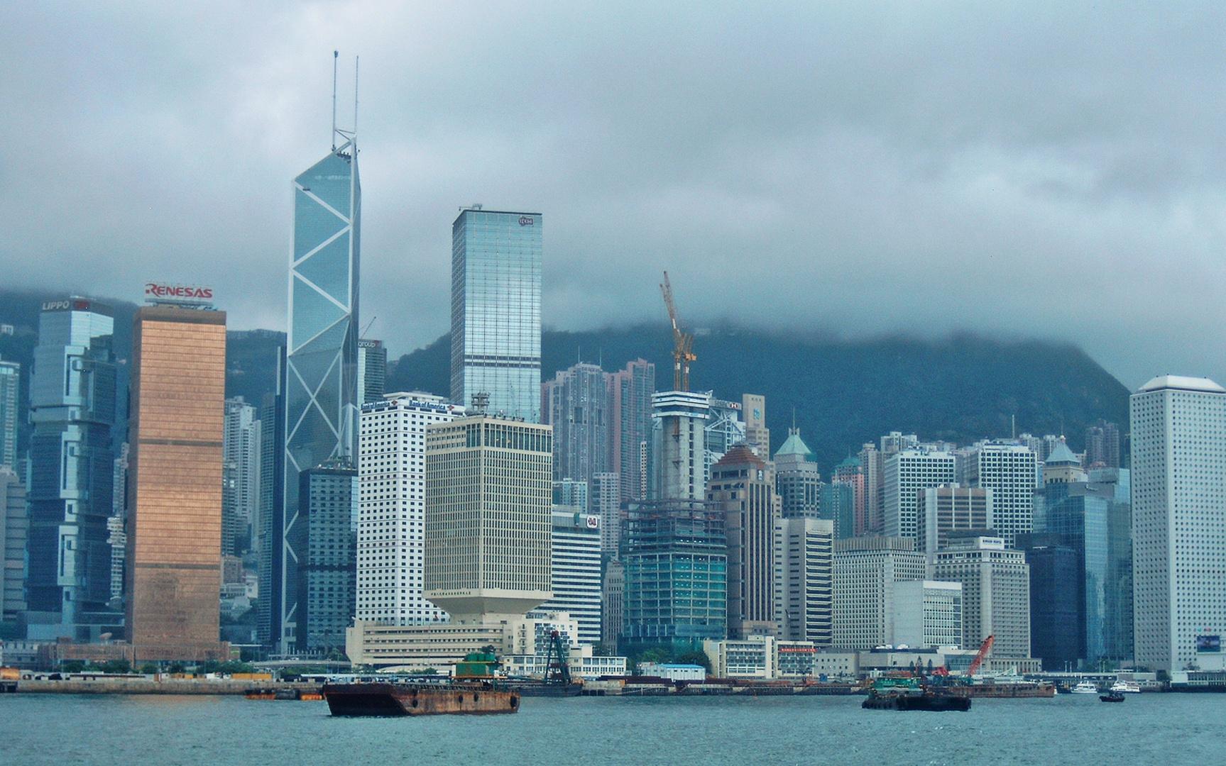 Hong Kong - Victoria Peak in Wolkenpracht