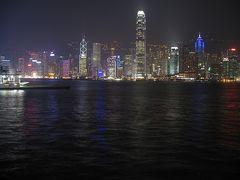 Hongkong bei Nacht im (April 2007)