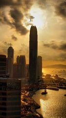 Hongkong Island and Harbour, HDR