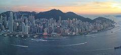 Hongkong Island Panorama ©