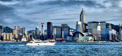 Hongkong Island... Pseudo-HDR