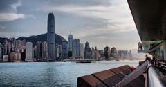 Hongkong Skyline HDR