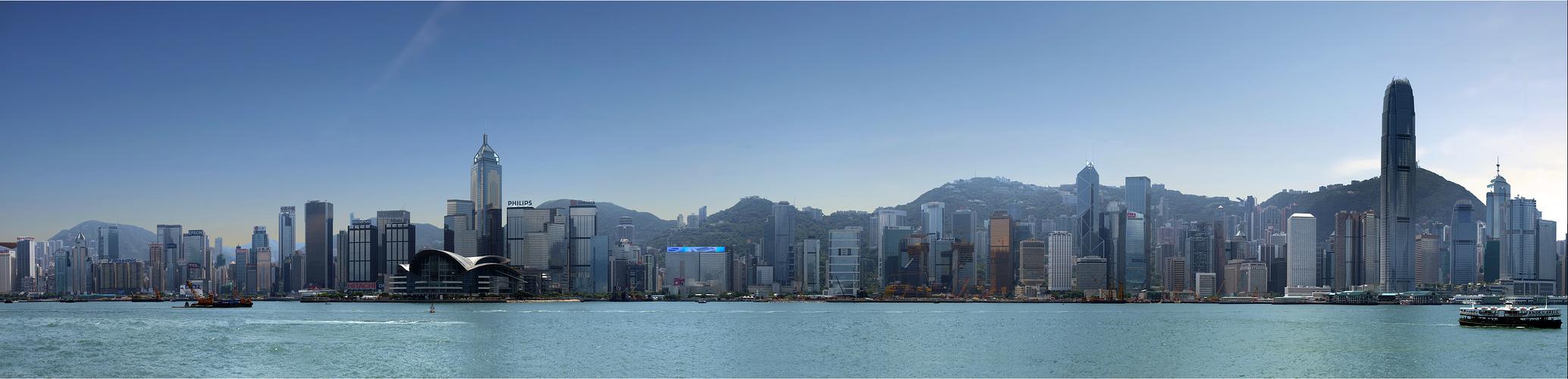 Hongkong Skyline Reload