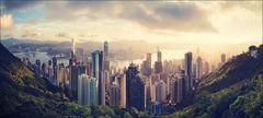Hongkong . Sunrise