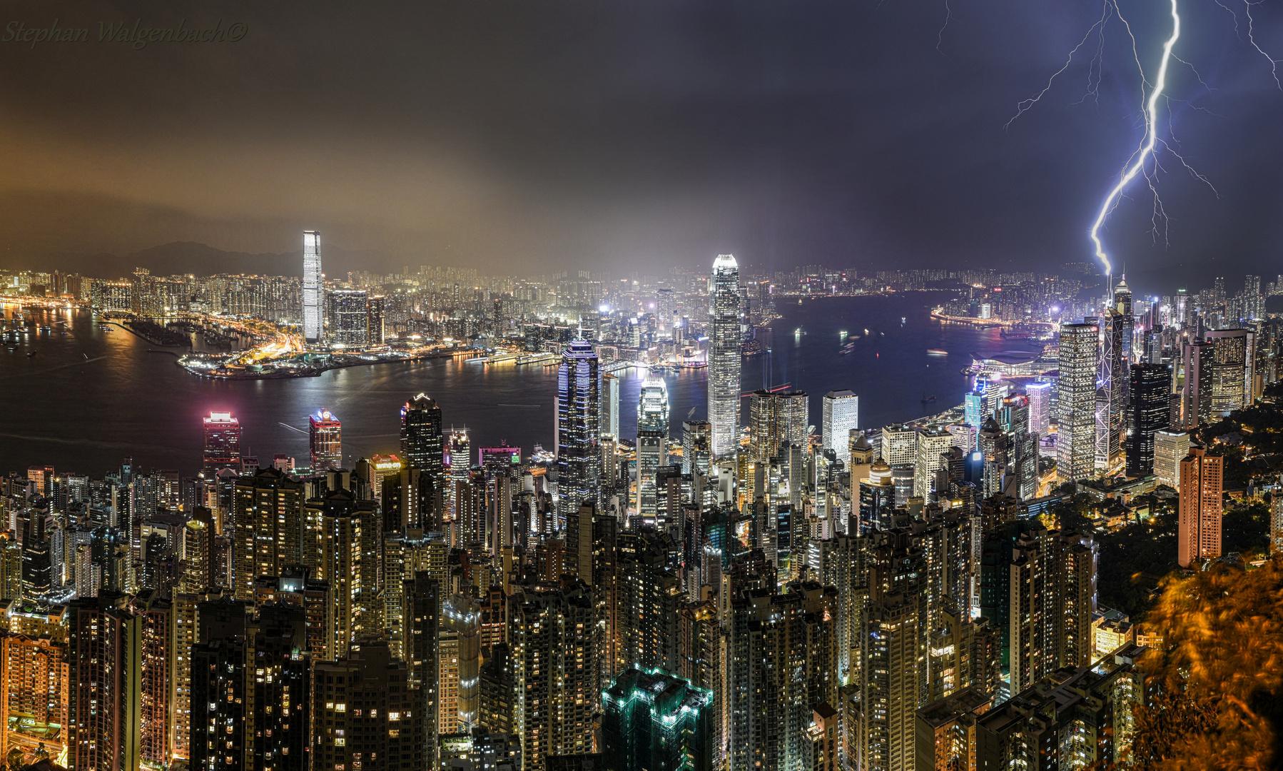 Hongkong und ein Blitzeinschlag in die Bank of China