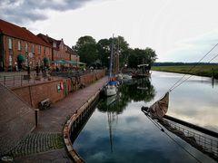 Hooksiel - alter Hafen ...