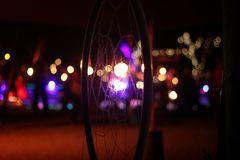 Hoop - Traumfänger im Licht des Firespaces