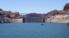 Hoover Damm at Lake Mead
