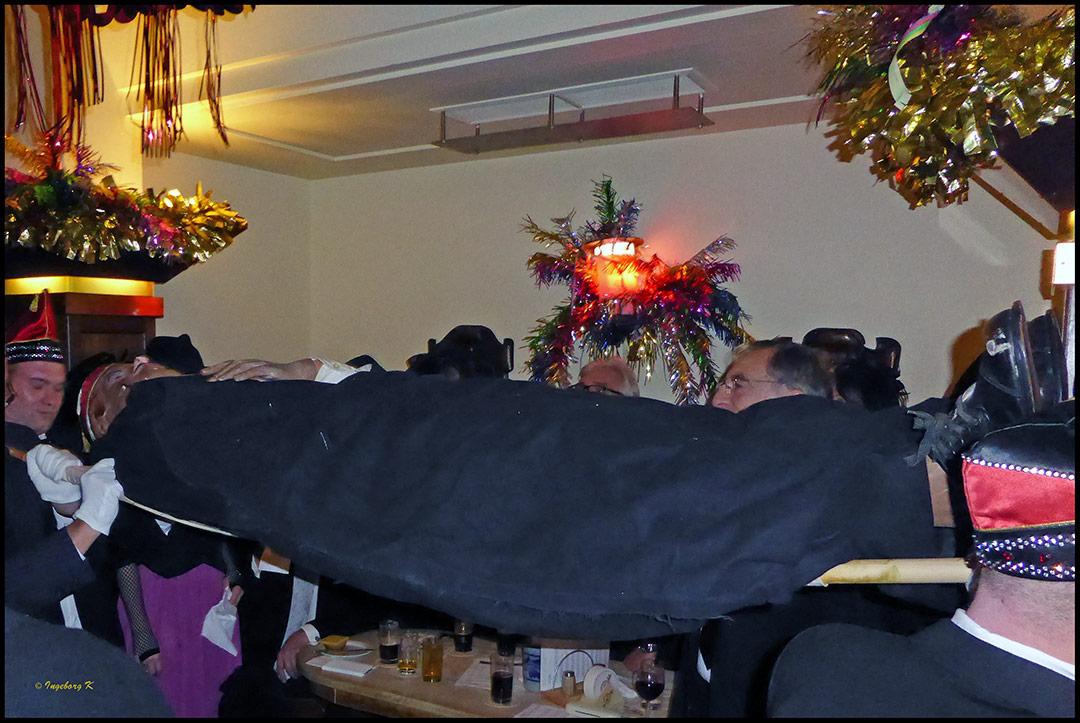 Hoppeditz Beerdigung