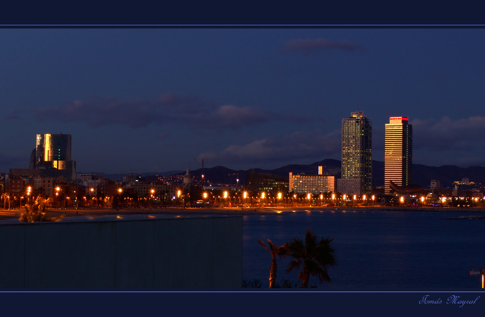Hora Crepuscular en Barcelona