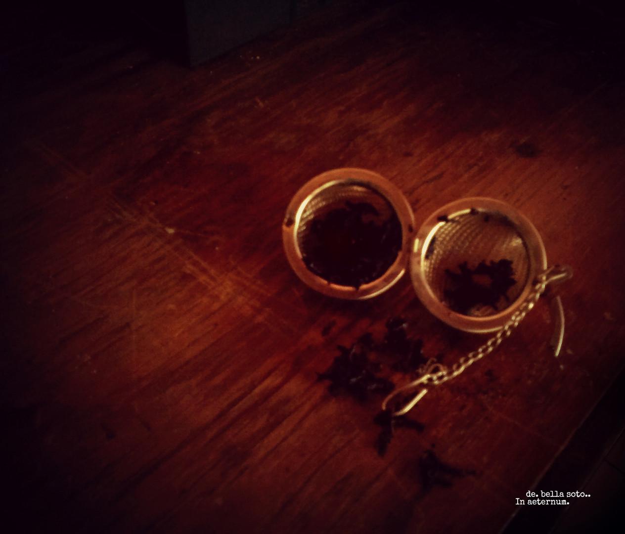 .- Hora del tè.