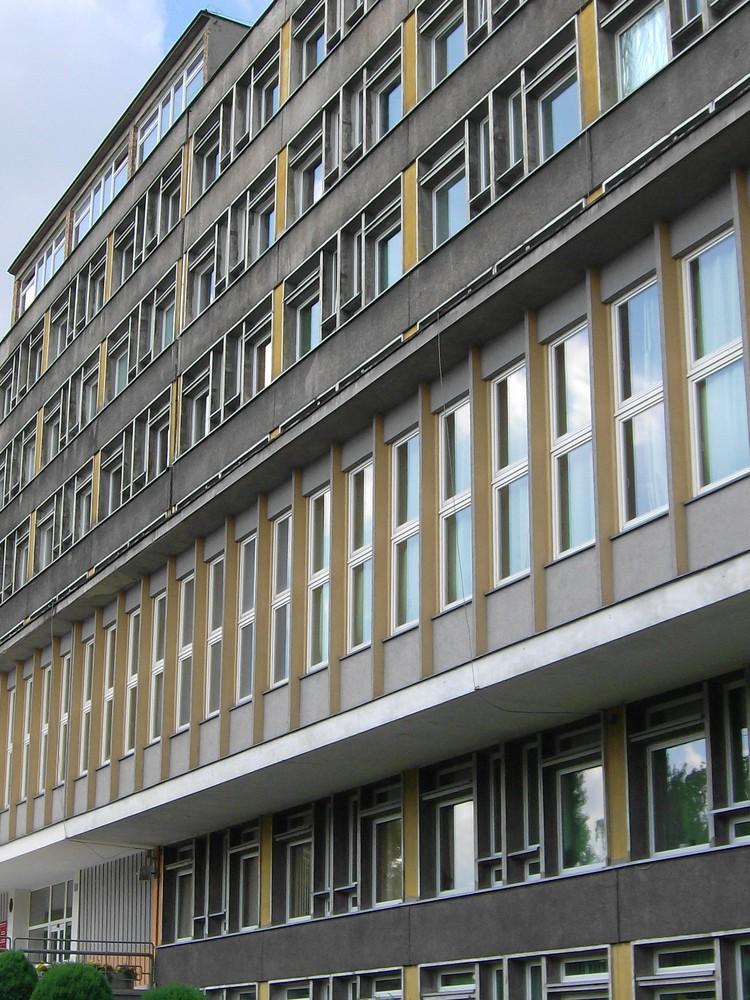 horizontale Fassadengliederung