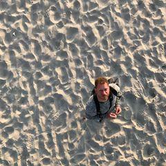 Horizonte Zingst 2017 - Lars im (Sand-)Meer
