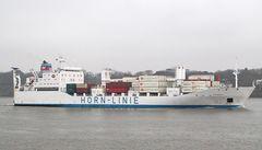 Hornbay - Kühlcontainerschiff