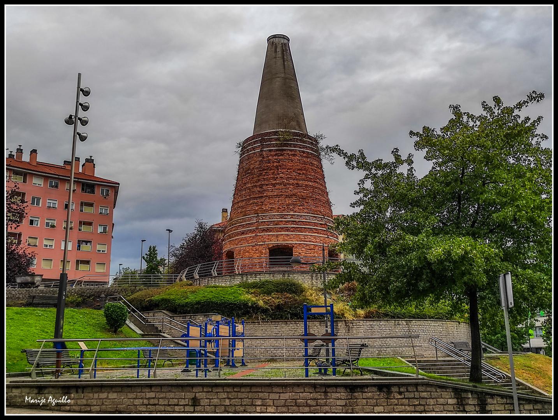 Horno de calcinación de la mina San Luís (Bilbao)