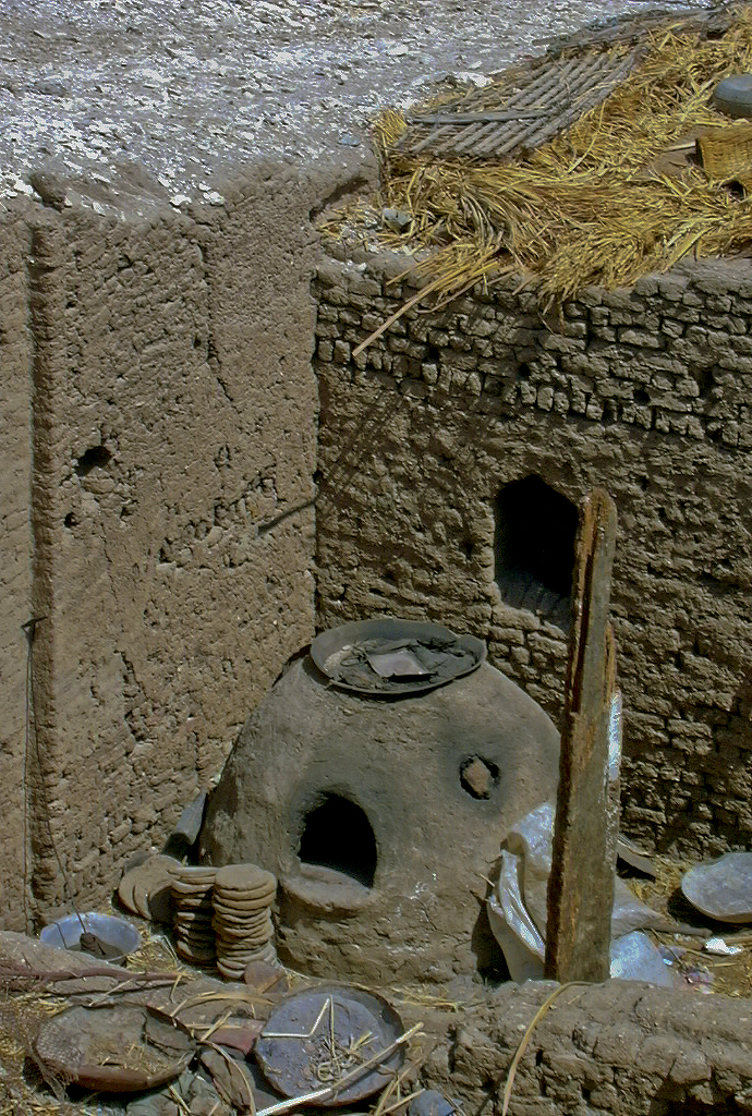 Horno de pan en Qurna