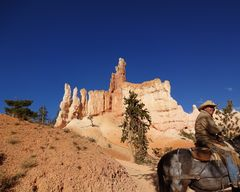 Horseback riding im Bryce Canyon