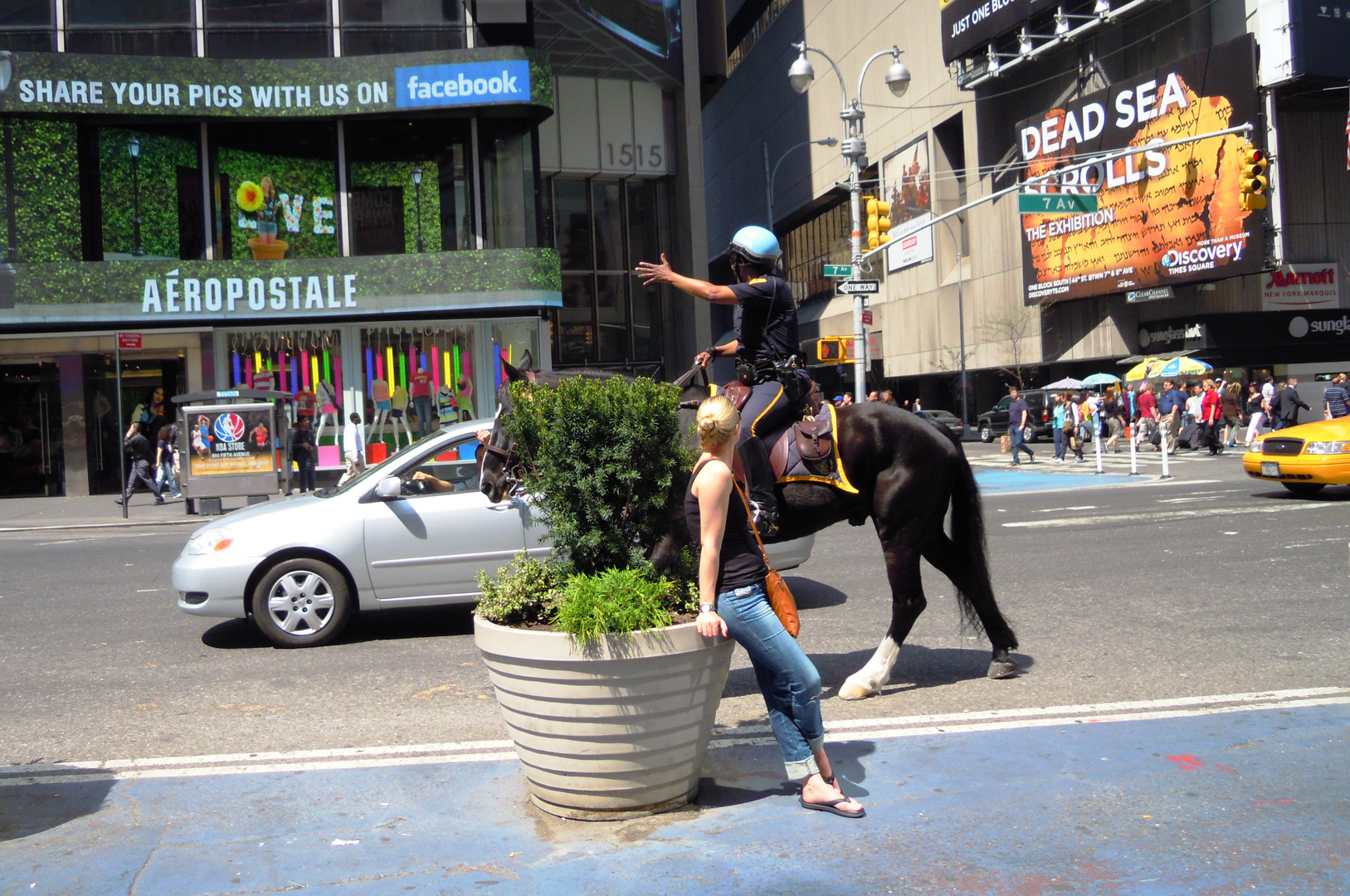 Horsepower Conflict @ Times Square