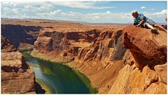 Horseshoe Bend view