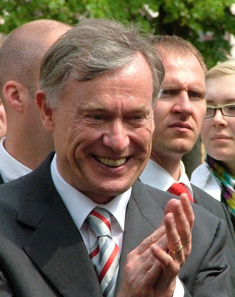 Horst Köhler in Gotha