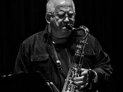 Horst Mach am Saxofon